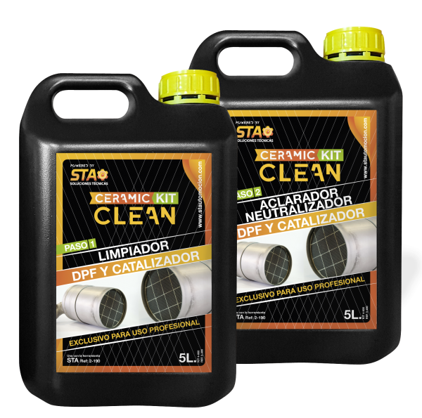 Ceramic Clean STA Limpieza de filtro de partículas