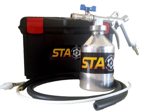 Aplicador limpieza filtro de partículas