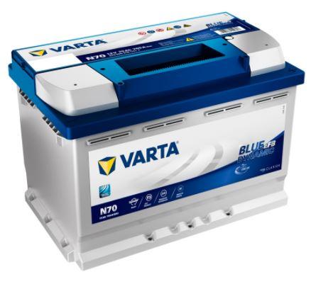 Batería Varta 70Ah 12v N70