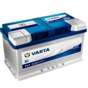 Batería Varta 80Ah 12v F17