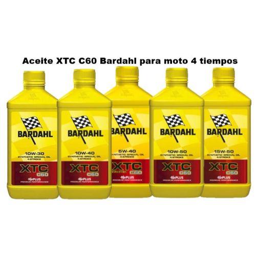 Aceite Bardahl 4 tiempos para moto