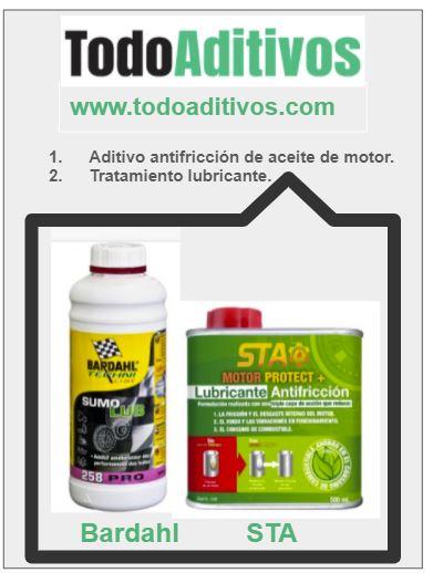 El mejor aditivo antifricción de aceite de motor