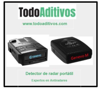 Detector de radar portátil