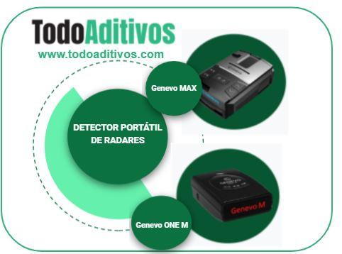 Detector portátil de radares